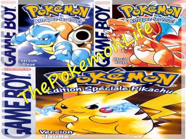 The Pokemon Life : Episode 1 : Bleu , Rouge et Jaune