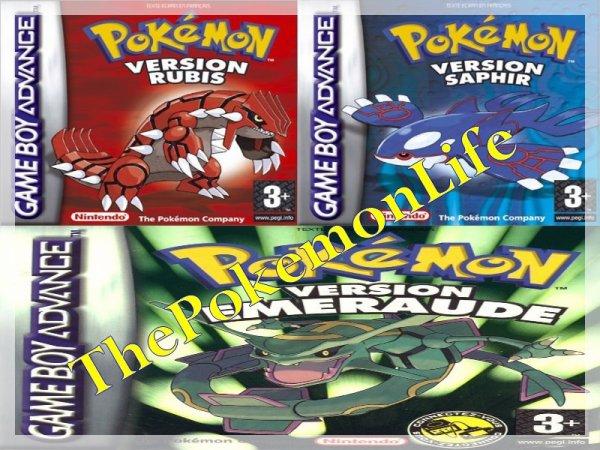 The Pokemon Life : Episode 3 : Rubis , Saphir et Emeraude