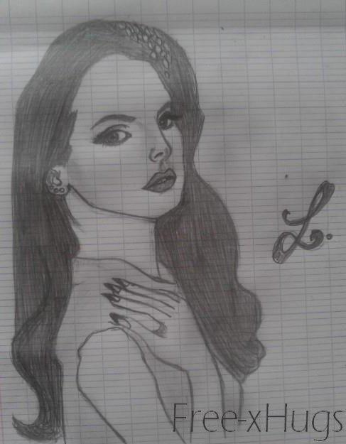 Nouveau portrait de Lana Del Rey ♥