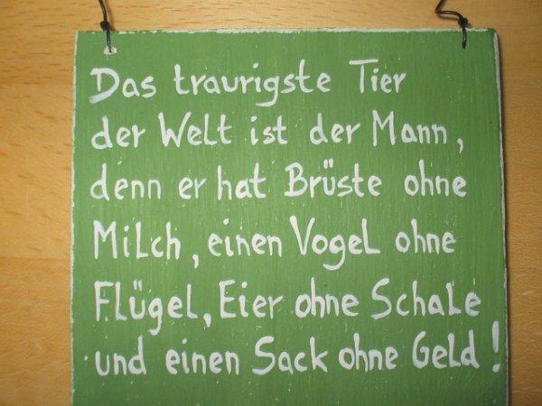 '' Der Mann ,'' blague en allemand ( xx )