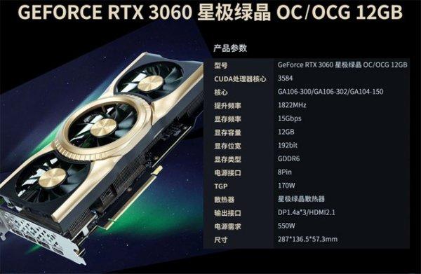 Galax et Gainward listent des RTX 3060 munies d'un GPU GA104