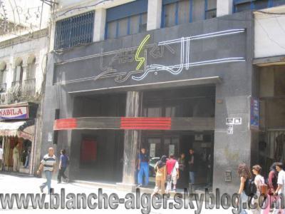 ALGER Rue Didouche Mourad Cinema l'algeria (Audin)