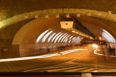 ALGER Tunnel des facultes a l'aube
