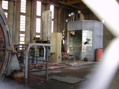 PUPITRE DE COMMANDE MACHINE D EXTRATION WENDEL 1