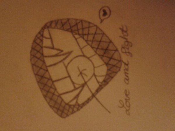 My drawn can become tattoos *-* / Mes dessins peuvent devenir des tatouages *-*