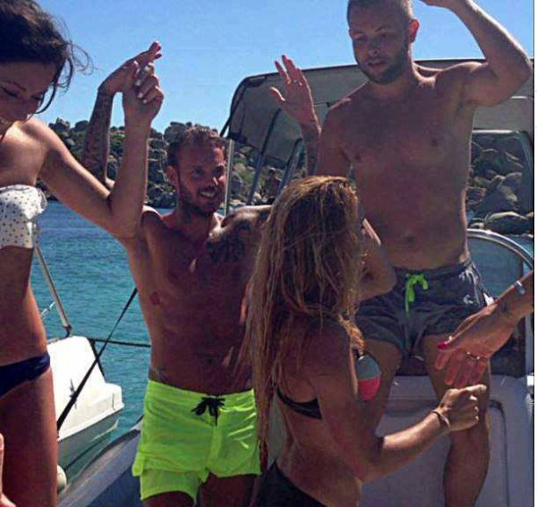 Matt en vacances en Corse !!! ;)