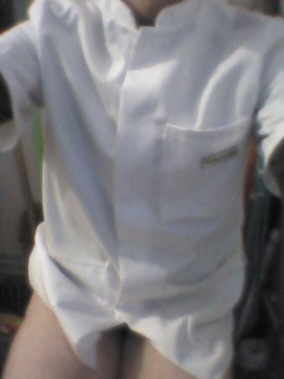 Mode blouse blanche...
