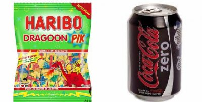 Haribo Dragoon Pik & Coca Cola Zero