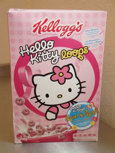 Céréales Kellog's Hello Kitty