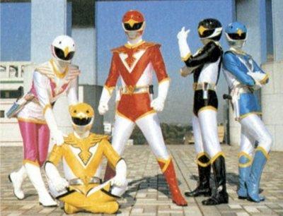 """Toikytikoné 58 """" Chojin Sentai Jetman """""""