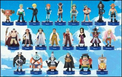 ONE PIECE x Pepsi NEX Figure Collection Campaign