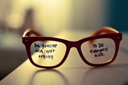 ♥ ♥  be yourself ♥ ♥