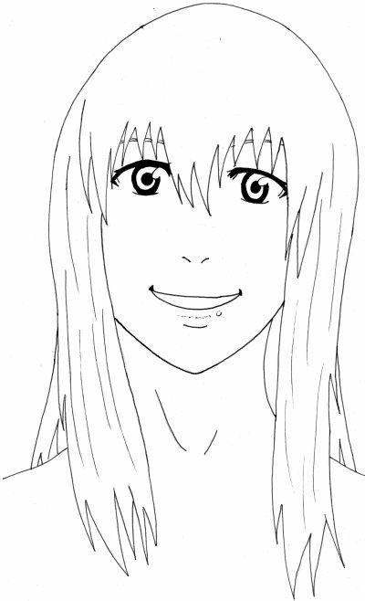 le on 2 dessiner un visage de face les yeux le dessin manga petits cours pour apprendre. Black Bedroom Furniture Sets. Home Design Ideas