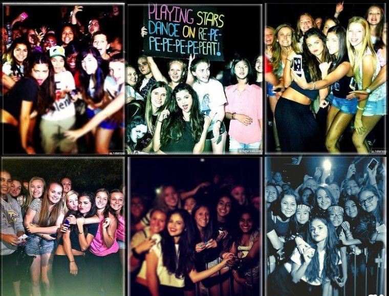 Le 19 Août Selena à fait un concert à Winnipeg au Canada + M&G  + Le 20 Août Selena à était aperçu se rendant à son hôtel à New York  + Le 22 Août Selena à fait un concert à Ottawa, Canada + M&G  Selena à pris le temps de prendre des photos avec ses fans avant ou après le concert