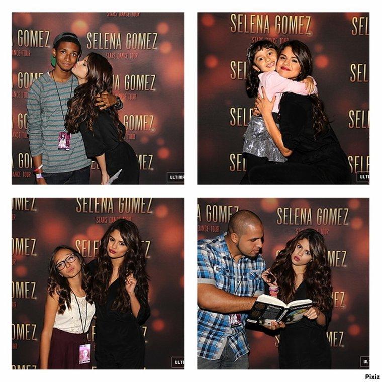 """Le 15/10/13 Selena performant à Bufallo  + M&G à Bufallo  + Le 16/10/13 Selena performant à Brooklyn  + M&G de Brooklyn  + Le 17/10/13 Selena sur le plateau de l'émission """"The View"""" où elle a chanté Slow Down  + Le 17/10/13 Selena arrivant devant le studio de l'émission """"Late Show with David Letterman""""  + Le 17/1013 Selena sortant de l'émission """"Late Show with David Letterman"""""""