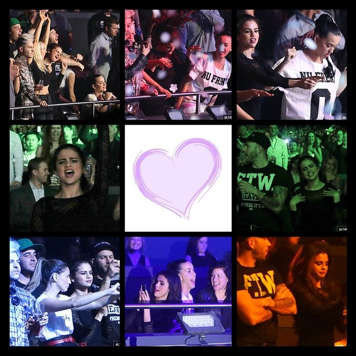 Le 27 décembre Selena et ses amis sont allés au concert de Britney Spears  Le 27 décembre Selena était à l'aéroport de Las Vegas  Photos Personnelles