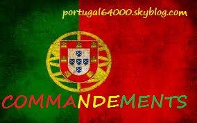 Les 10 commandements du portugais !