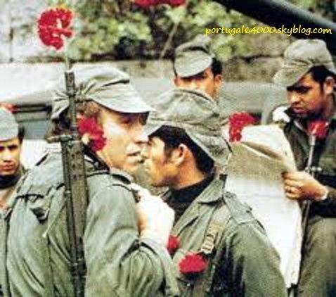 25 avril 1974, révolution des oeillets !