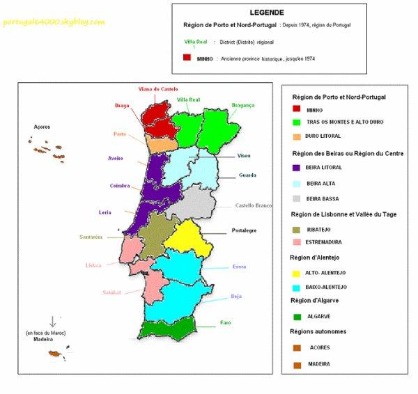 Régions et sous régions !
