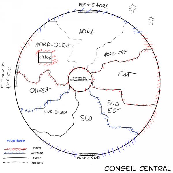 Le Conseil Central.