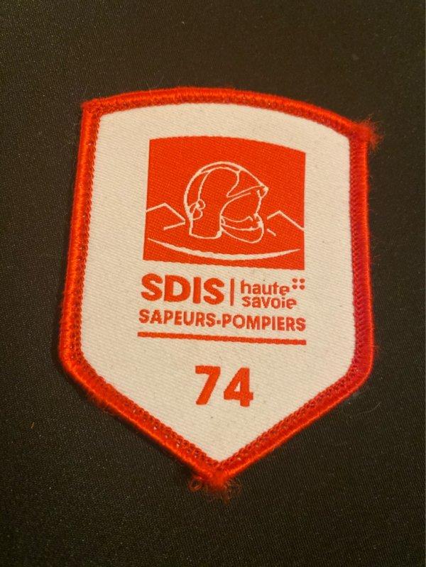 Écusson SDIS 74