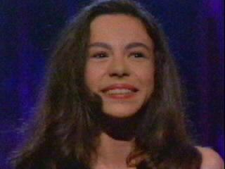 3ème photo de Fanny à l'Eurovision 1997