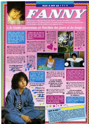 Fanny vers août-septembre 1992