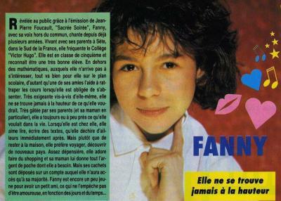 Résumé sur Fanny en 1992