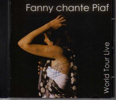 """1er Album live de Fanny """" Fanny chante Piaf """""""