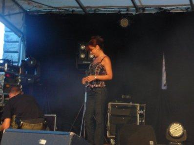Photo Fanny concert 13 juillet 2010 (1)