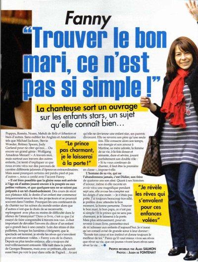 Fanny présente son livre sur Ici Paris