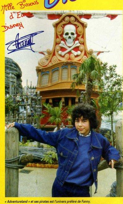 Fanny dans l'Univers d'Eurodisney mai 1992 (2)