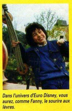 Fanny dans l'Univers d'Eurodisney mai 1992 (3)