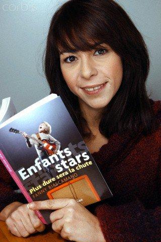 Photo Fanny pour son premier livre