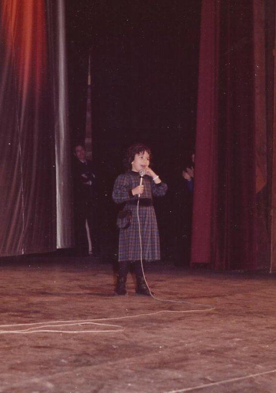 Première photo Fanny sur scène