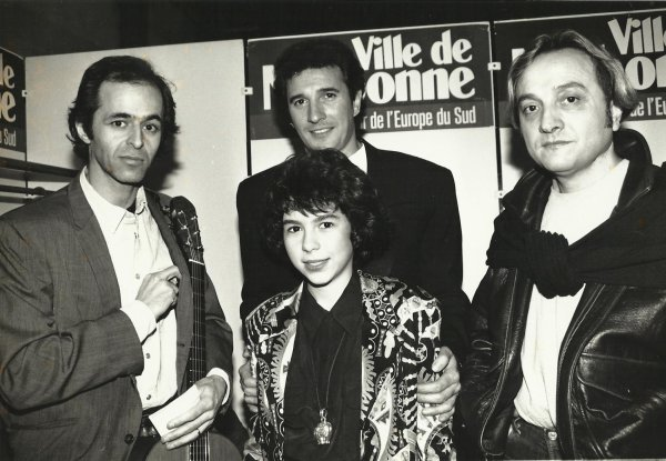 Photo Fanny Narbonne debut 1991