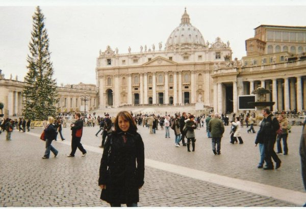 Fanny au Vatican Noel 2012