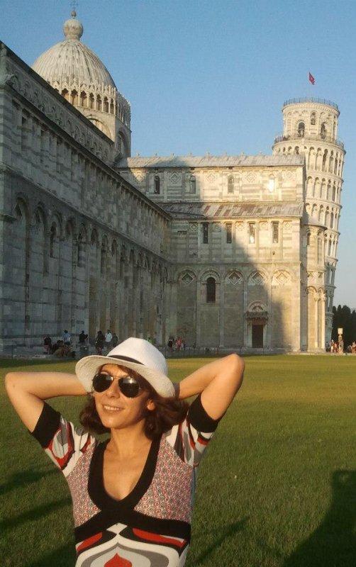 Fanny en Italie août 2012