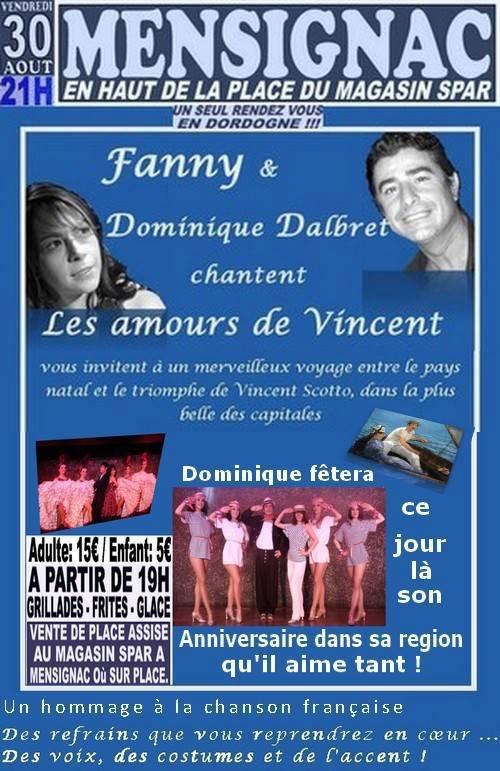 Concert fanny Mensignac 30 août 2013