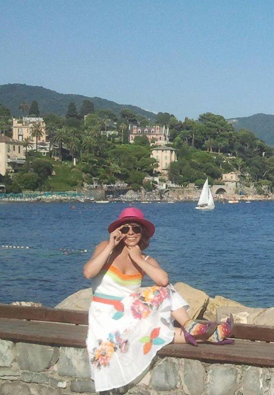 Photo Fanny en Italie août 2013