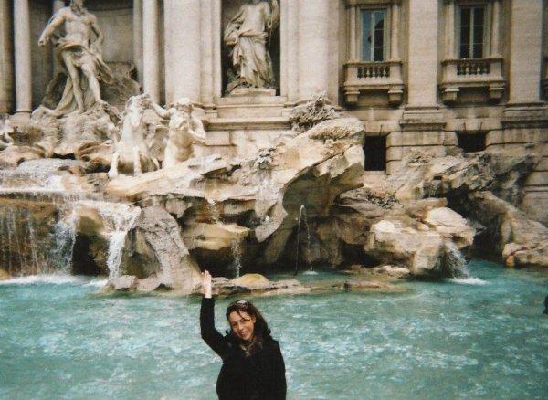 Fanny à Rome juillet 2012