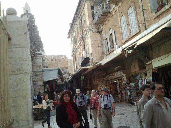 Fanny à Jerusalem 2012