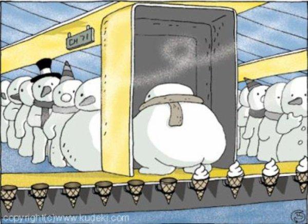 Une ptite glace !!! lol