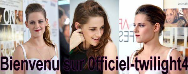 Présentation Officiel twilight 4