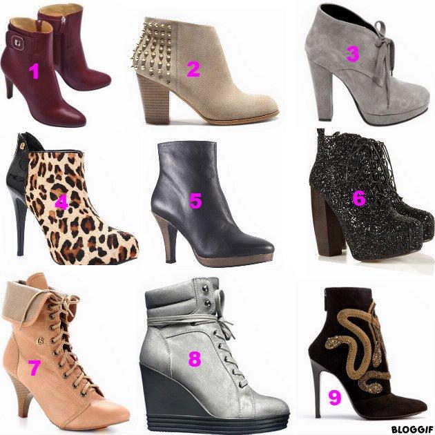 """Chaussures """"lequels vous preferées"""""""