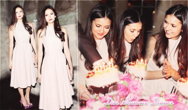 De nouvelles photos de Nina à son anniversaire le 9 janvier dernier.