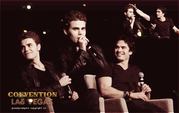 Paul s'est rendu en compagnie de Ian à la convention de Las Vegas.