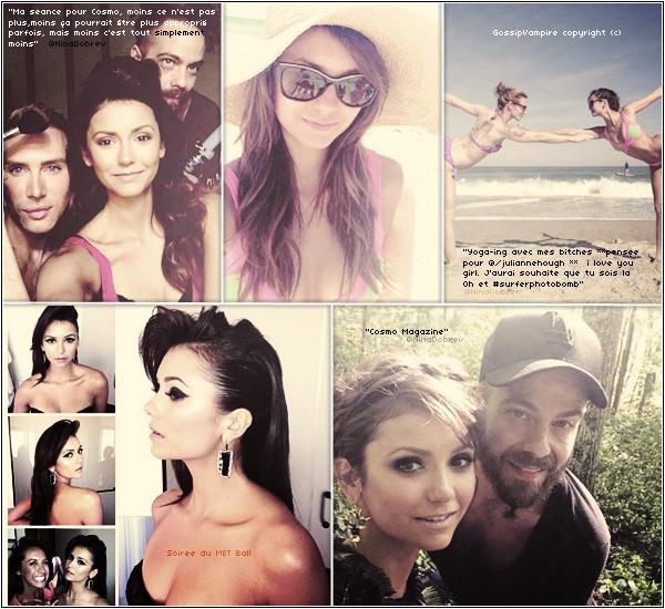 Les dernières photos tweeté par Nina.