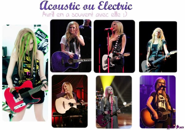Acoustic ou ElectricNewsletter