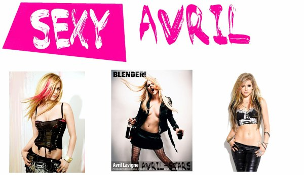 Sexy Avril Lavigne !Newsletter